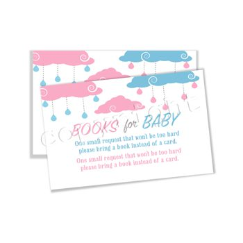 Baby Sprinkle (Gender Reveal) Matching book request insert BR3331